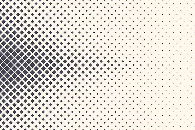 Rhombus halftone abstracte geometrische structuur achtergrond