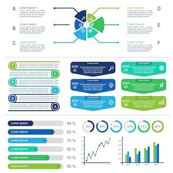 Richtlijnen infographic-sjabloon