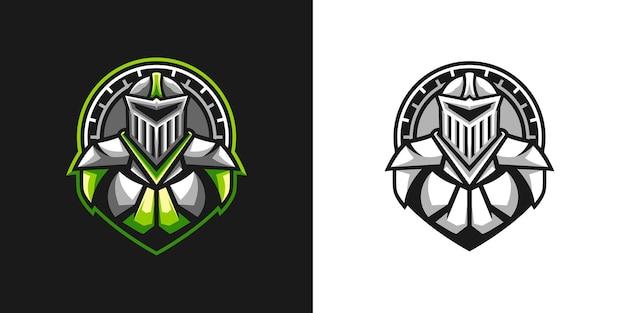Ridder mascotte ontwerp