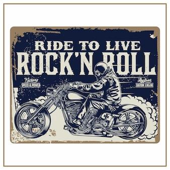 Rij om rock 'n roll te leven