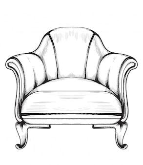Rijke barokke fauteuil
