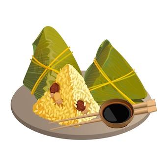 Rijst dumplings