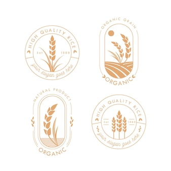 Rijst logo collectie