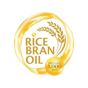 Rijstzemelenolie met informatieve details
