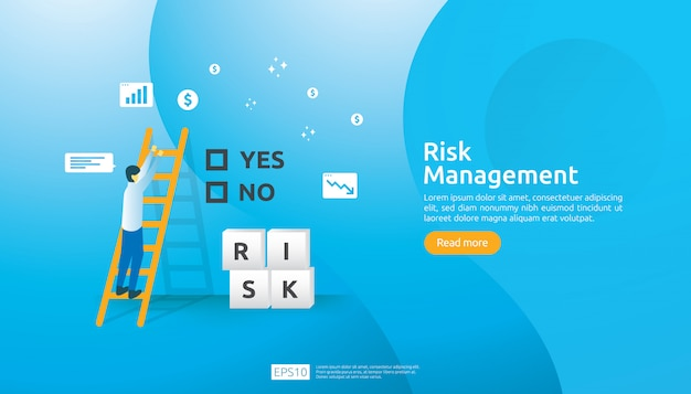 Risico management illustratie