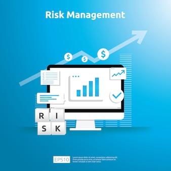 Risico management illustratie