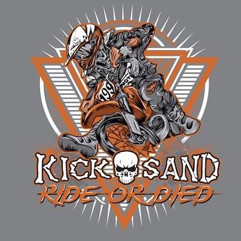 Rit of dood motocross strijd