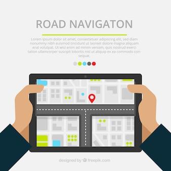 Road navigatie