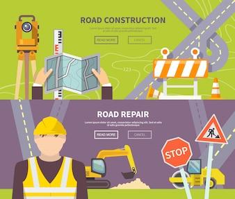 Road Worker Banner