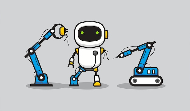 Robot fabricageproces