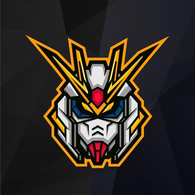 Robot hoofd logo