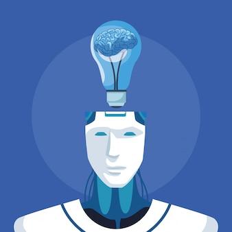 Robot met kunstmatige intelligentie