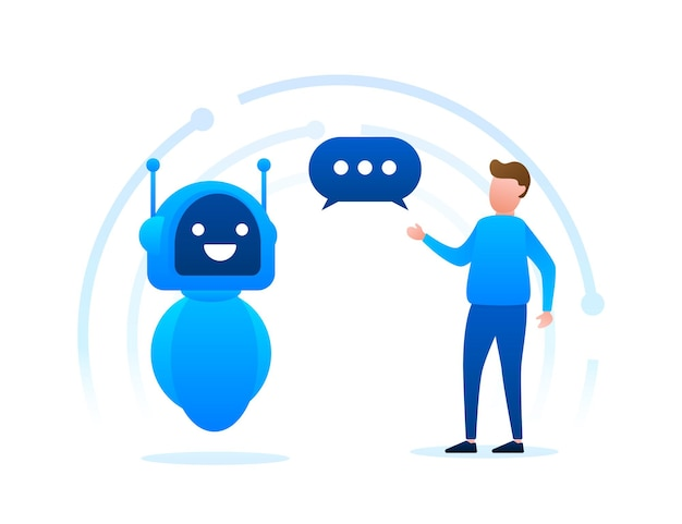 Robotpictogram. bot teken ontwerp. chatbot symbool concept. bot voor spraakondersteuning. online ondersteuningsbot. vector illustratie.
