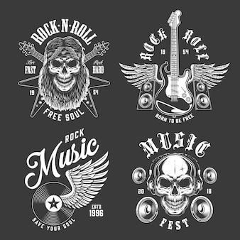 Rock and roll emblemen