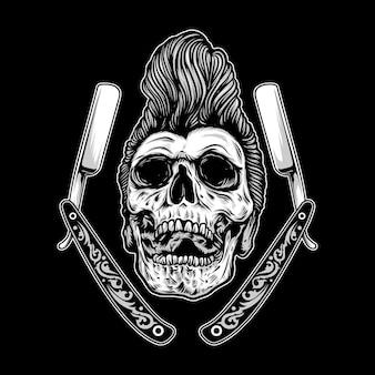 Rockabilly-schedel