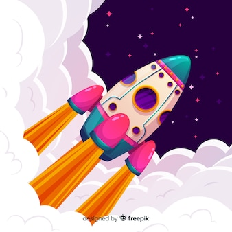 Rocket achtergrond