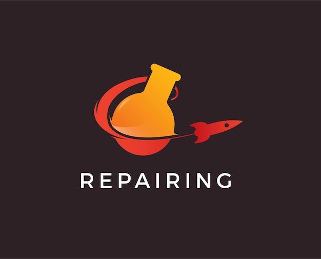 Rocket lab-logo sjabloon