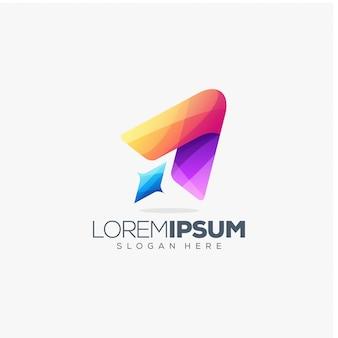 Rocket logo ontwerp