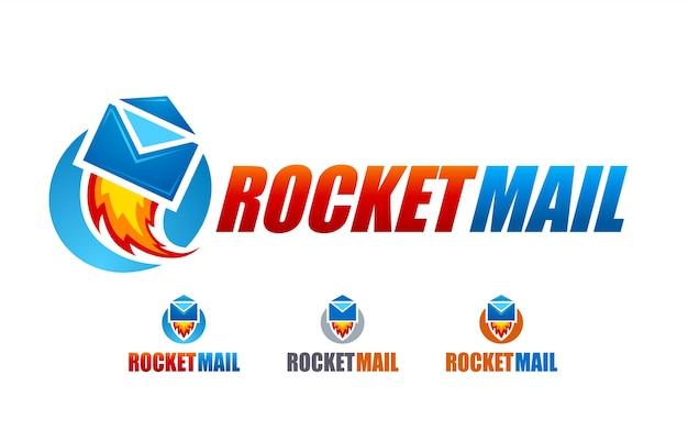 Rocket mail-logo