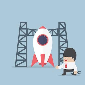 Rocket opstarten