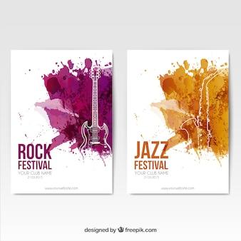 Rockfestival posters