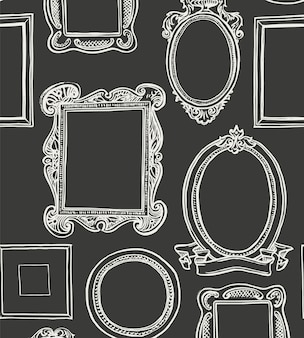 Rococo frames instellen
