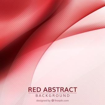 Rode abstracte achtergrond met golvende vormen