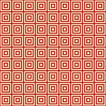 Rode achtergrond eindeloze oost-patroon