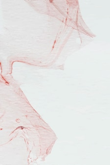 Rode aquarel abstracte achtergrond vector