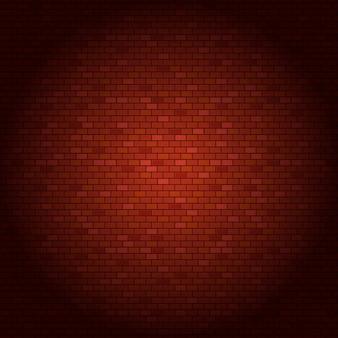 Rode bakstenen muur vectorillustratie