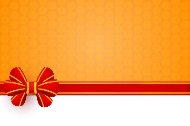 Rode boog geschenk