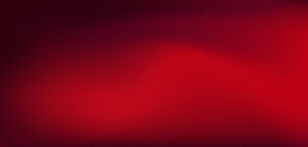 Rode circuitmicrochip op technische achtergrond, hi-tech digitaal en veiligheidsconceptontwerp, vrije ruimte voor tekst in de afbeelding, illustratie.