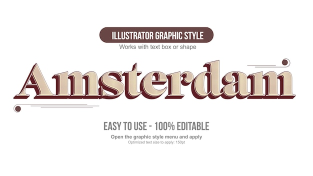 Rode en gele oude vintage 3d typografie