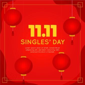 Rode en gouden singles dag