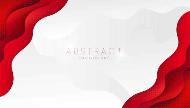 Rode en witte abstracte achtergrond