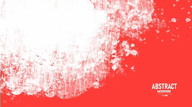Rode en witte aquarel textuur achtergrond
