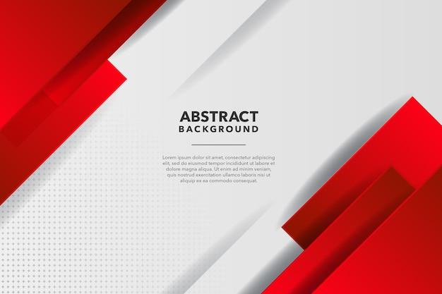 Rode en witte moderne abstracte achtergrond