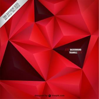 Rode en zwarte achtergrond met driehoeken