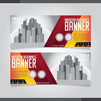 Rode en zwarte moderne creatieve visitekaartje en naamkaart