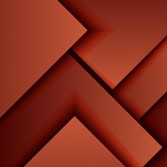 Rode geometrische achtergrond