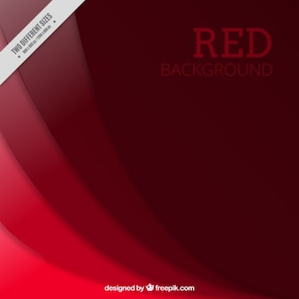 Rode golven achtergrond