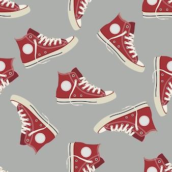 Rode gumshoe pictogram