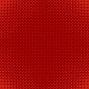 Rode halftone cirkel patroon achtergrond