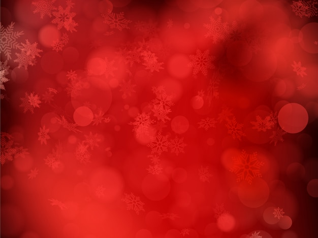 Rode kerst achtergrond.