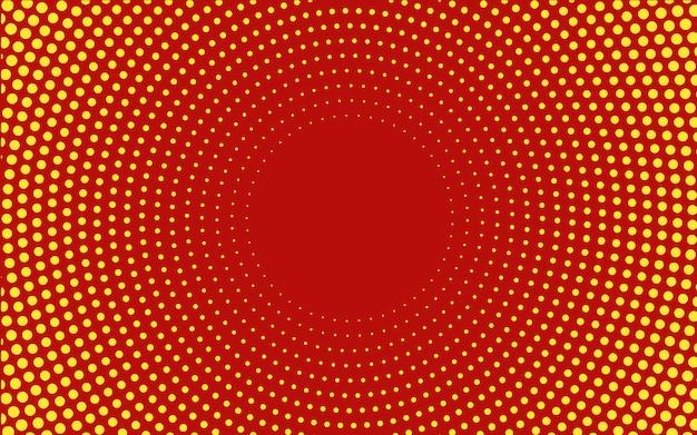 Rode kleurovergang halftone achtergrond vector