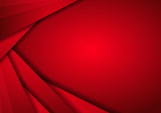 Rode metaaltextuur als achtergrond, abstract metaalrood met de lay-out van het driehoekskader