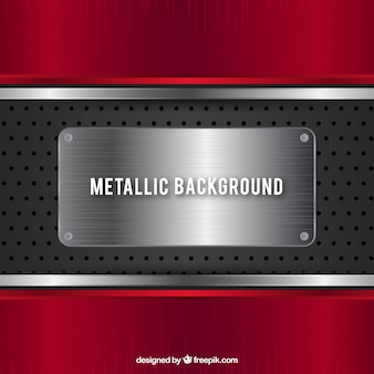 Rode metalen achtergrond