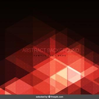 Rode moderne veelhoekige achtergrond