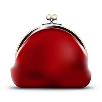 Rode portemonnee