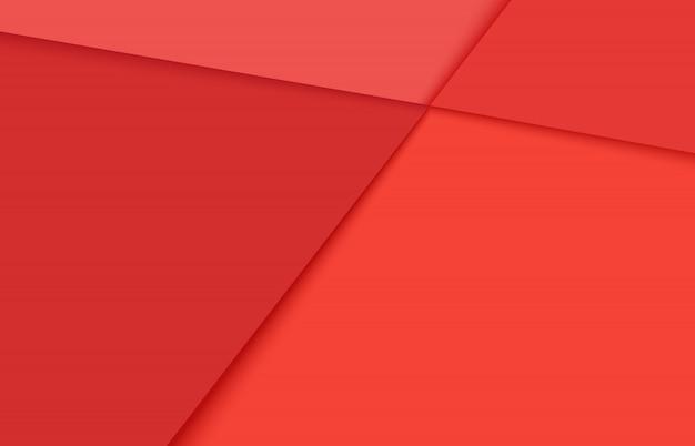 Rode romantische creatieve abstracte geometrische minimalistische achtergrond.
